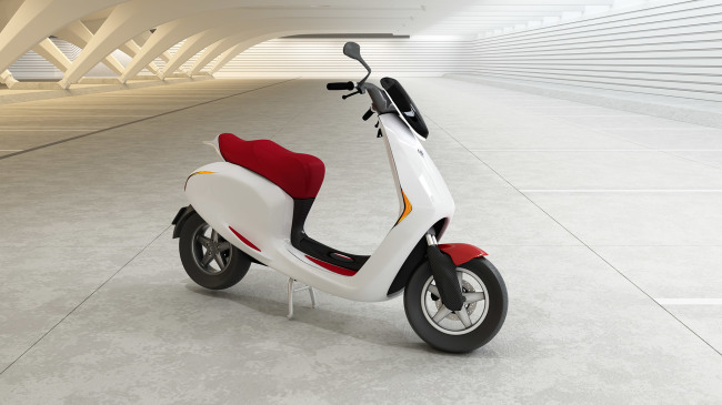 Bolt electric scooter concept